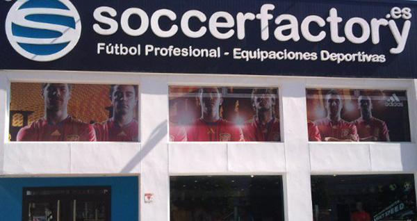 """Soccerfactory: """"Queremos ser el referente en España de la venta online de equipaciones de fútbol"""""""