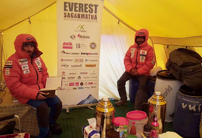Trangoworld acompaña a Alex Txikon al Everest