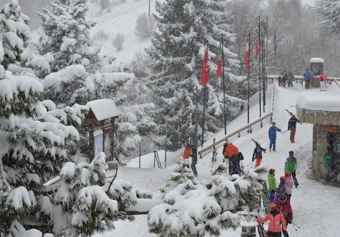 Baqueira recibe cerca de 150.000 esquiadores estas Navidades