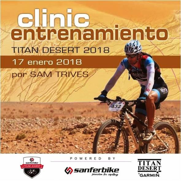 Sanferbike ofrece un primer clinic de entrenamiento gratuito para la Titan Desert 2018