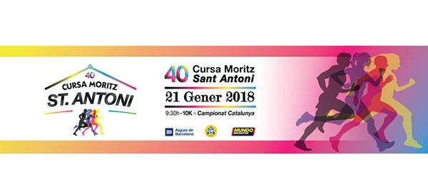 La Cursa Moritz Sant Antoni celebra su 40 aniversario con novedades