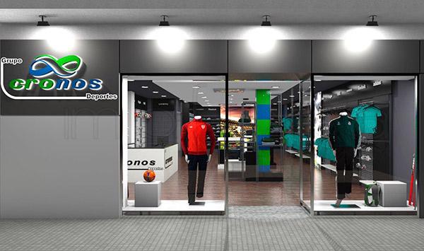 Deportes Cronos presenta la nueva imagen de sus dos divisiones de tiendas