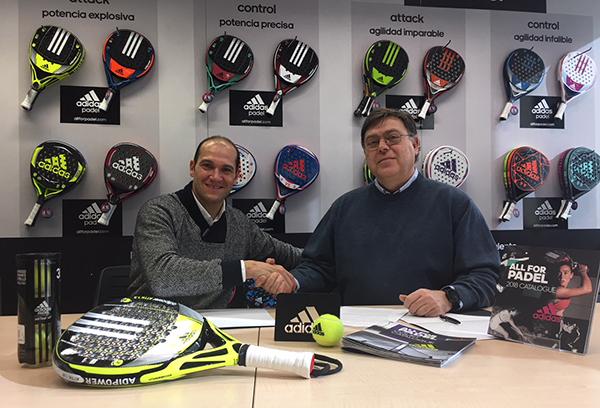 Adidas Pádel ficha a Sebastián Nerone