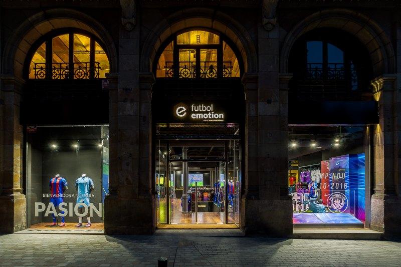 Futbol Emotion prevé abrir 9 tiendas y facturar 22 millones este 2018