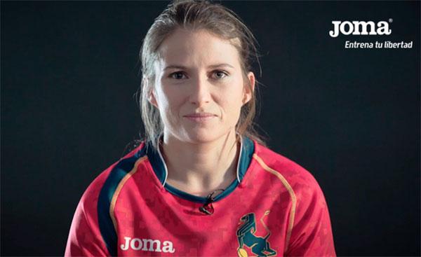 Joma ensalza los valores del deporte femenino en su nueva campaña