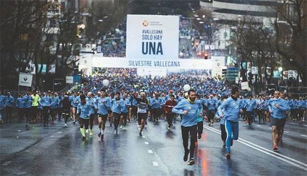 42.000 corredores despiden 2017 en la San Silvestre Vallecana