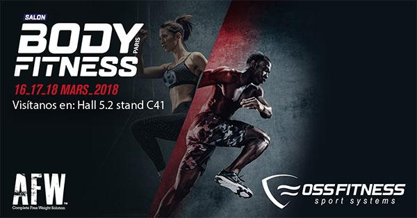 Oss Fitness repetirá presencia en el Salón Body Fitness París