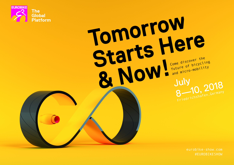 Eurobike estrena una imagen corporativa futurista