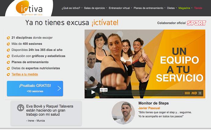 """Ictiva: """"El pastel del fitness digital se reparte cada vez en más trozos"""""""