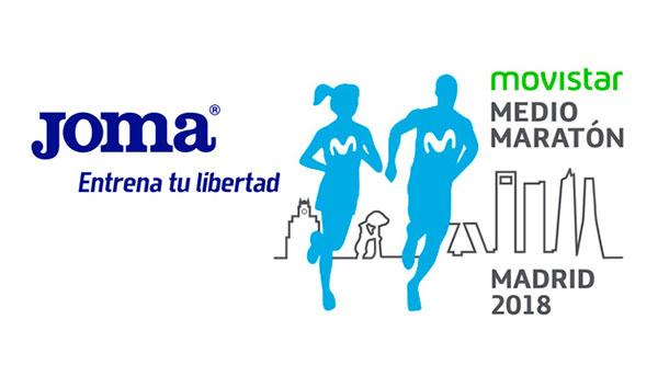 Joma, nuevo patrocinador del Movistar Medio Maratón de Madrid
