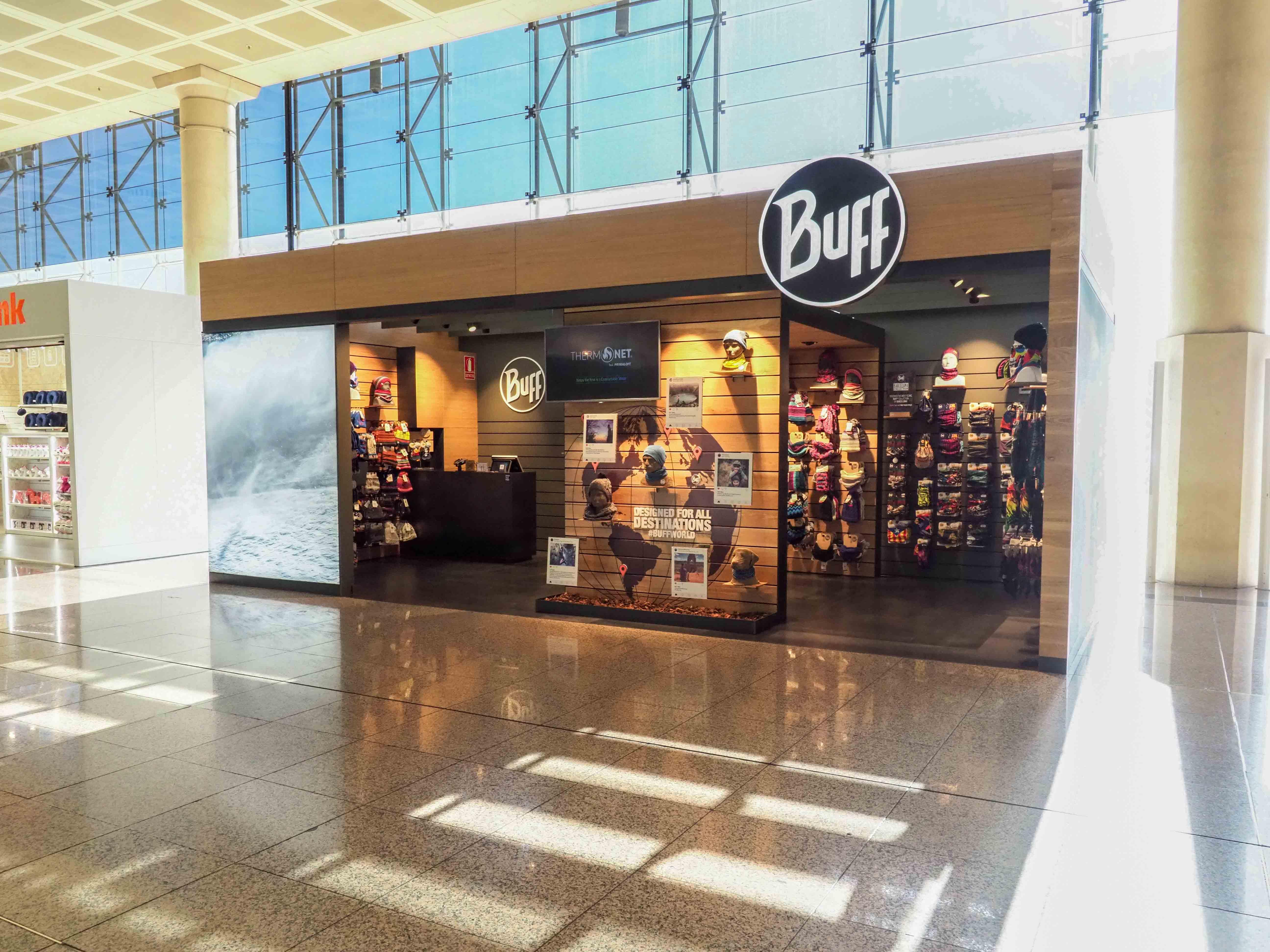Buff abre un nuevo local en la terminal 2 del Aeropuerto de Barcelona