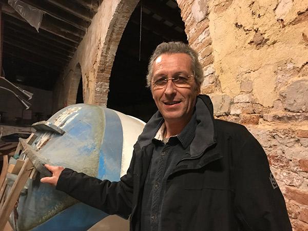"""Pere Bertran: """"el patín a vela no sólo son las regatas"""""""