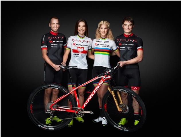 Jolanda Neff y el equipo Kross vuelven a equiparse con Shimano