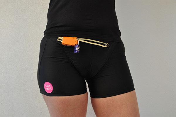 Lanzan al mercado unos shorts de running 'antiviolaciones'