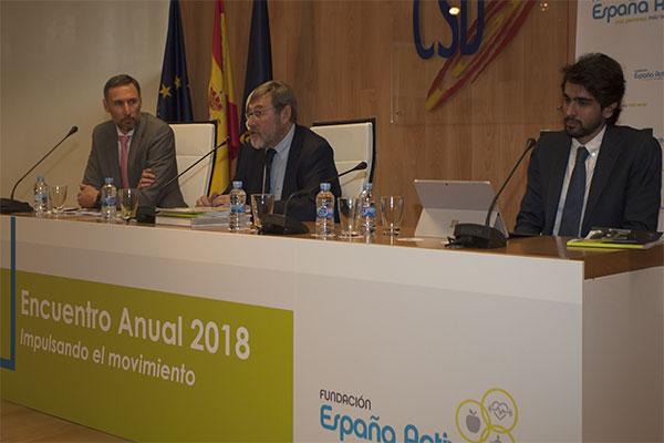 La Fundación España Activa buscará la financiación pública para no depender del fitness