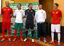 Joma se convierte en patrocinador de Bulgaria