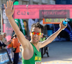 "Javier Guerra: ""Sigo siendo un novato en maratón"""