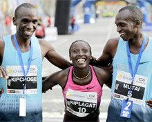 Florence Kiplagat establece un nuevo récord en el Medio Maratón de Barcelona