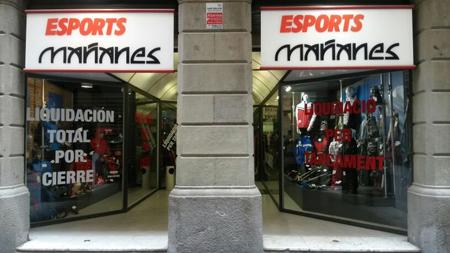 Resultado de imagen de cierre de comercios barcelona