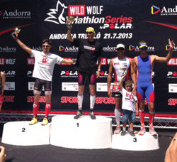 Jaume Leiva vence en el triatlón de Andorra convertido a duatlón