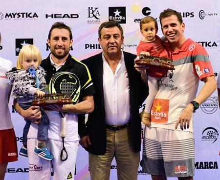 Paquito Navarro y Maxi Gabriel conquistan San Fernando