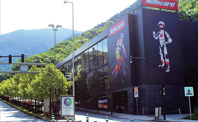 Motocard incorpora una sección de esquí de 500 m2