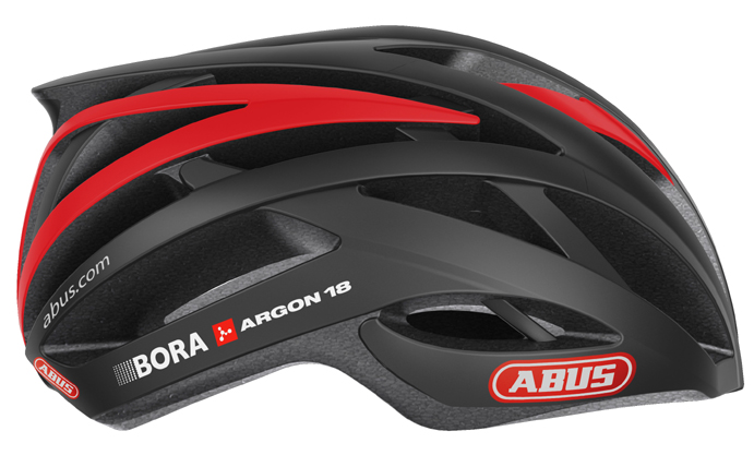 Abus, nuevo sponsor de cascos del equipo Bora-Argon 18