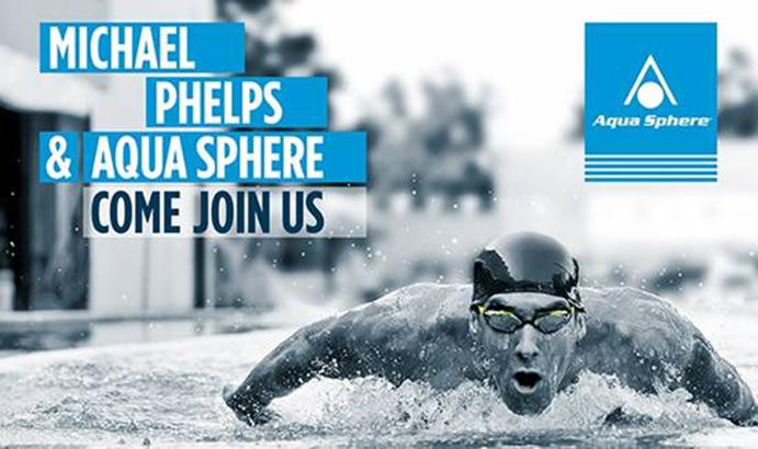 Aqua Sphere lanzará una nueva marca de natación con Michael Phelps