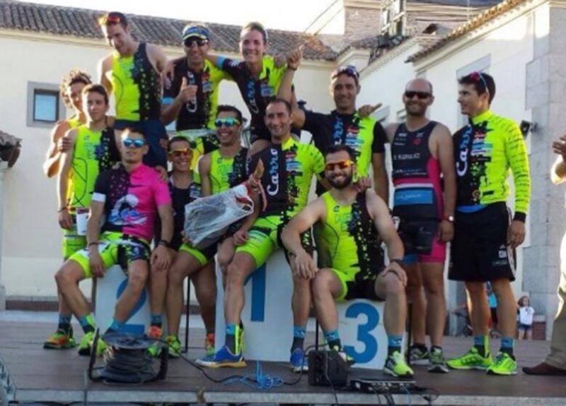 Carrasco es Ciclismo crea una escuela infantil de triatlón