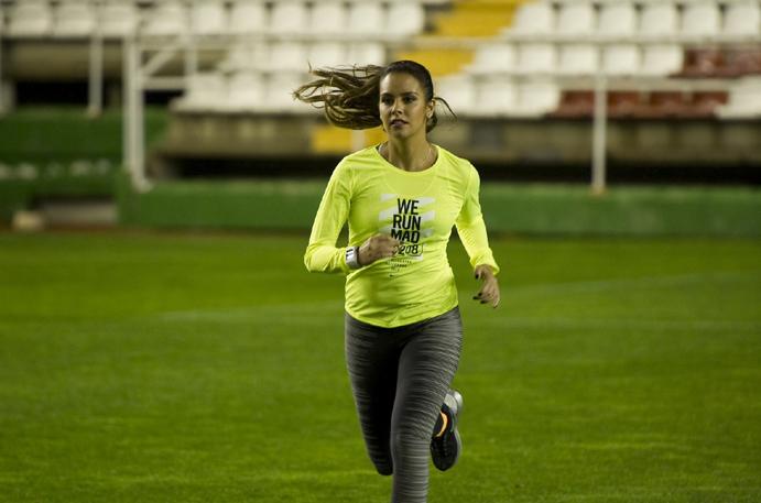 Cristina Pedroche se enfrenta a su primer trail en la Transgrancanaria