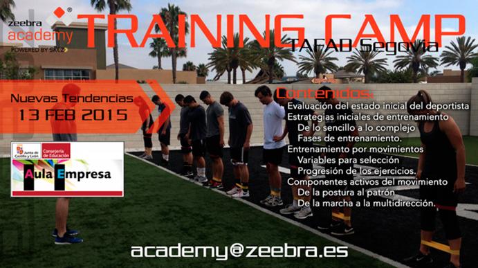 Zeebra Academy impartirá formaciones en Tafad Segovia