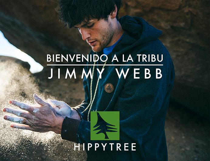 HippyTree ficha al escalador Jimmy Webb