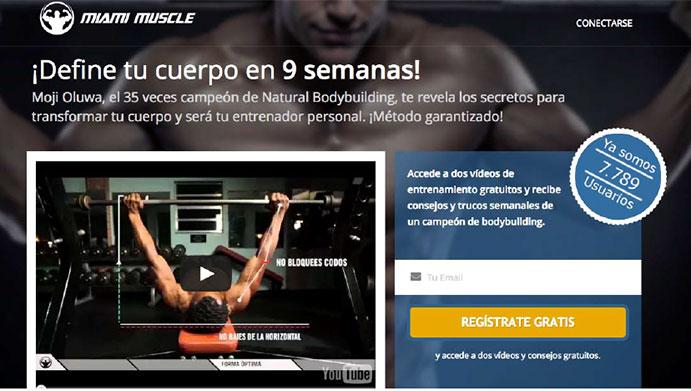 El programa de musculación Miami Muscle aterriza en España