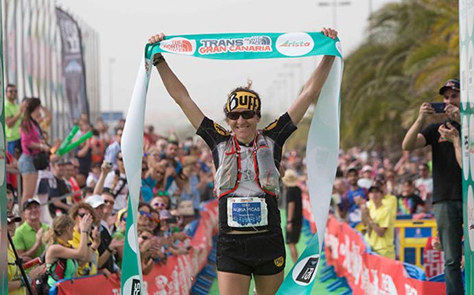Núria Picas revalida su título de campeona en la Transgrancanaria
