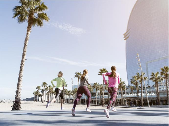 Nike abre su primer club de running femenino en Barcelona