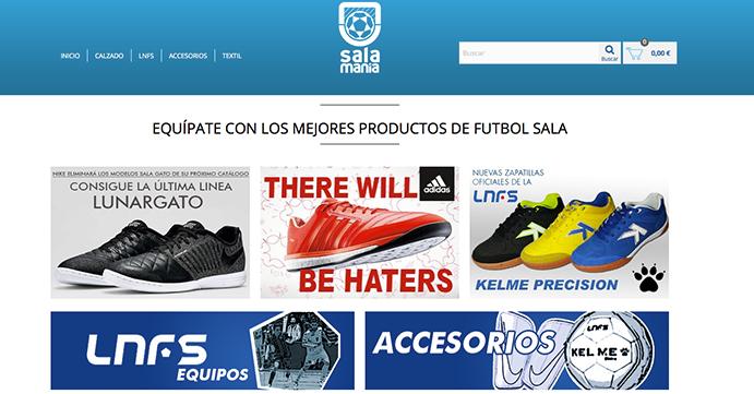 Cornerfootball lanza una tienda especializada en fútbol sala