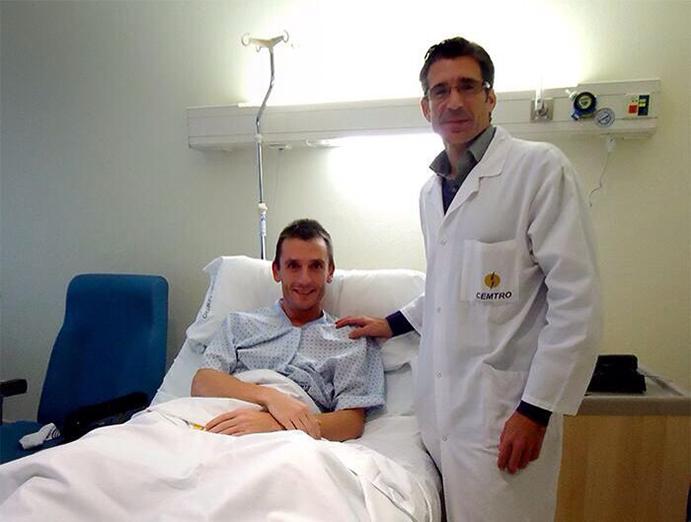 """Carles Castillejo ha sufrido un largo periodo de lesiones y operaciones que él mismo califica como """"un gran reto""""."""