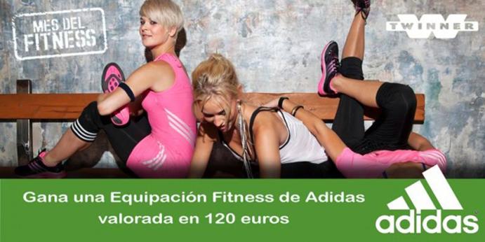 Twinner y Adidas sortean una equipación de fitness valorada en 120 euros