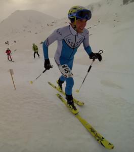 Pere Rullán combina el trail running con el esquí de montaña.
