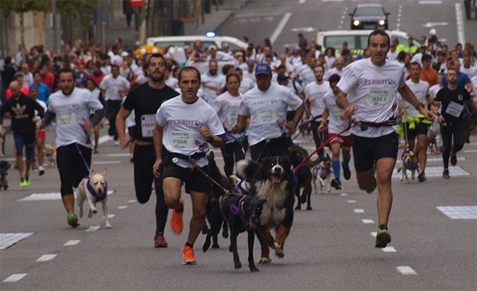 La carrera Perrotón 2015 aumenta la participación a 3.000 perros y amos