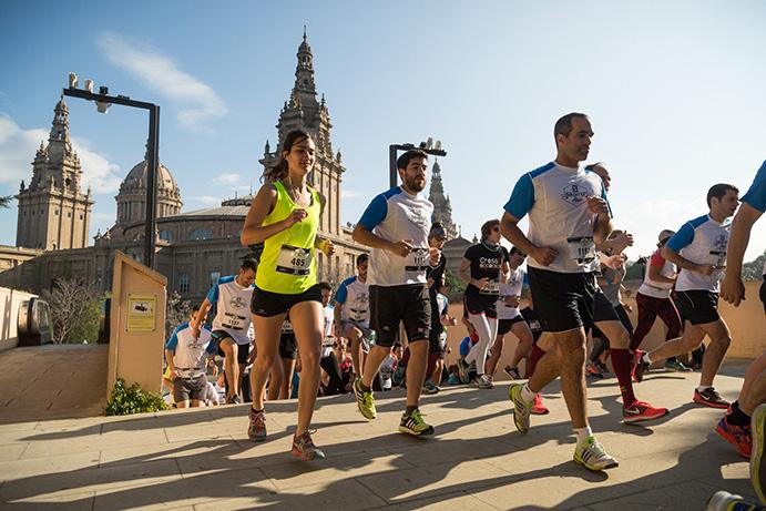 Más de 1.600 corredores 'toman' Barcelona en la Salomon Run