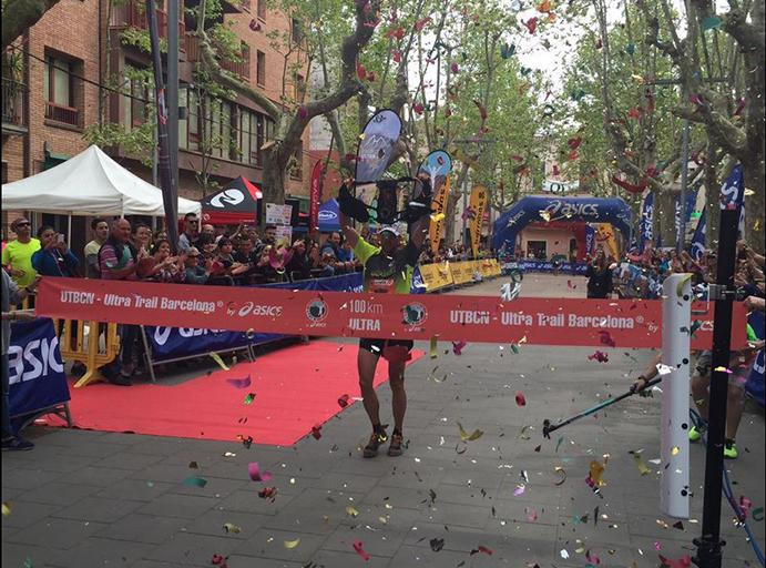 Jessed Hernández y Laia Díez se imponen en la Ultra Trail de Barcelona