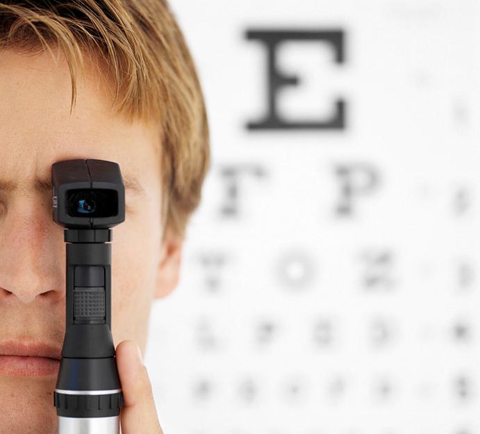 Gimnastas, atletas y nadadores, los deportistas con peor visión