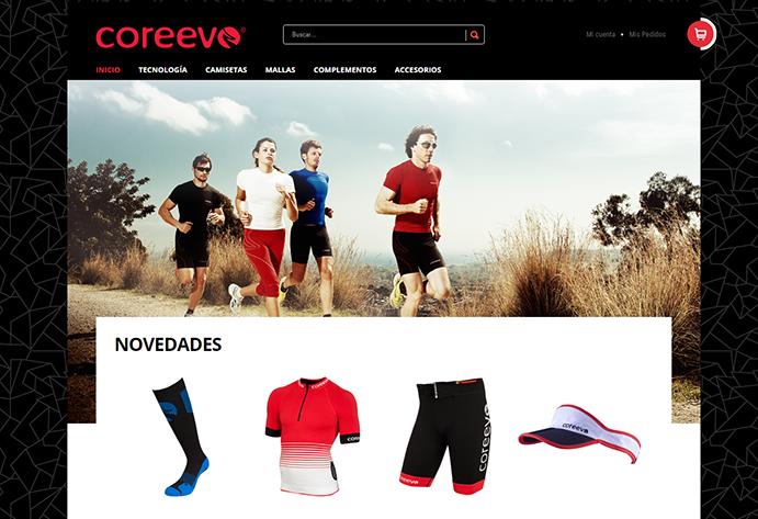 Coreevo renueva su web e incorpora venta online