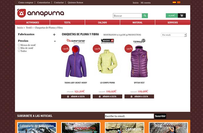 Annapurna se lanza a la venta online