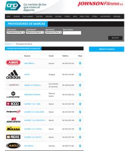directorio marcas deportivas cmdsport