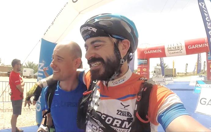 Juanjo López se supera en la Titan Desert