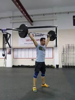 Alejandro Marquina es entrenador de CrossFit Zaragoza.