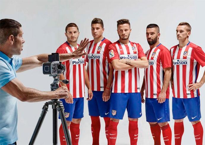 Camisetas de homenaje para el Atlético de Madrid