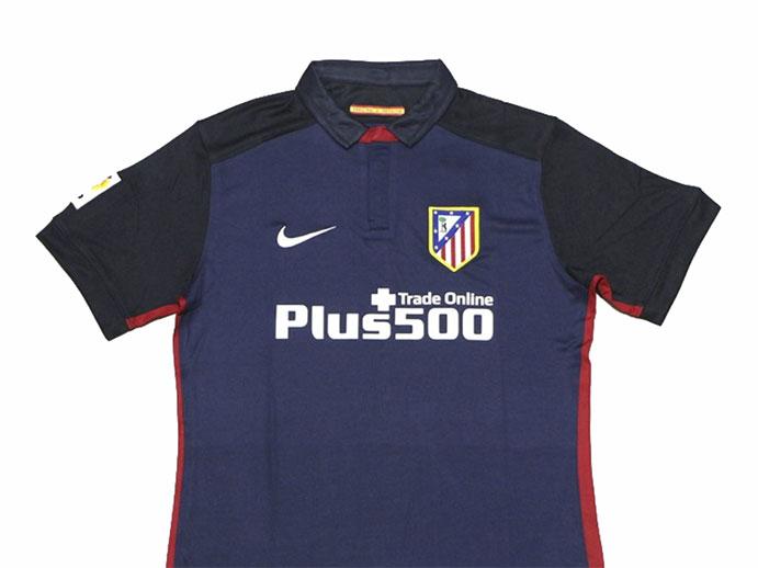 segunda equipacion Atlético de Madrid hombre